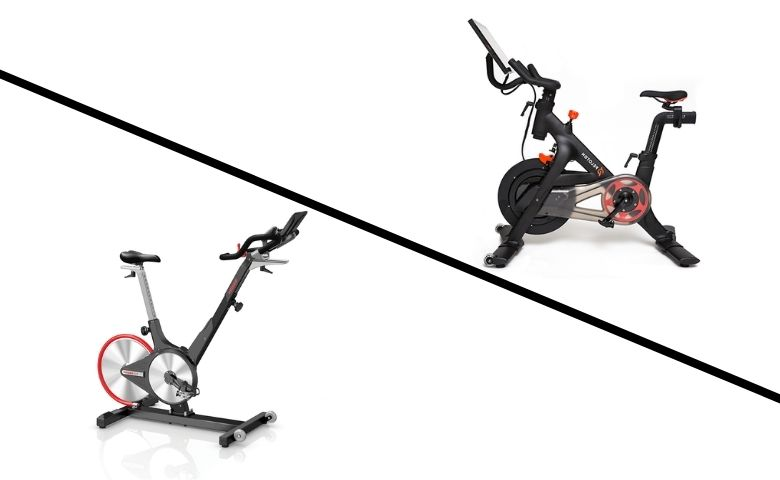 Keiser vs Peloton Bike
