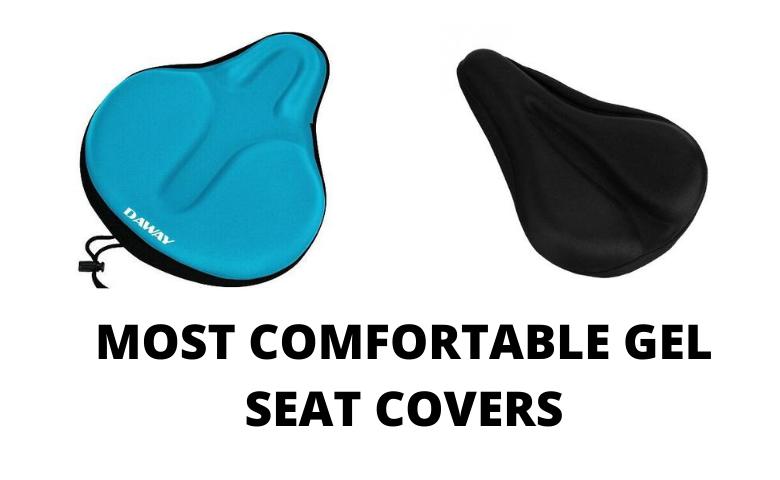 Bike Seat Cover Memory Foam Gel Bike Saddle Cushion Extra Soft Narrow Bike