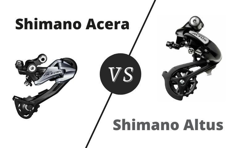 Shimano Altus vs Acera