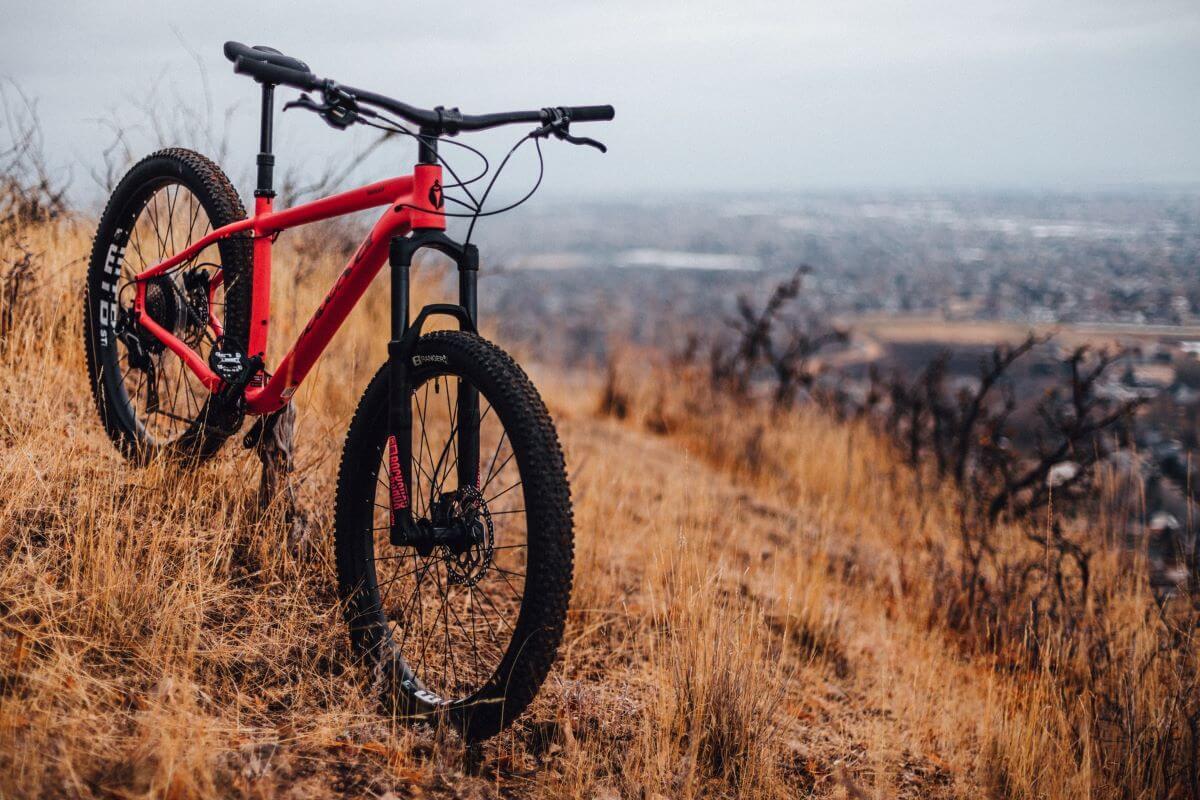average mountain bike weight