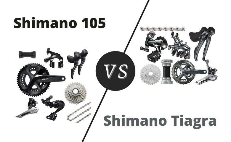 shimano tiagra vs 105